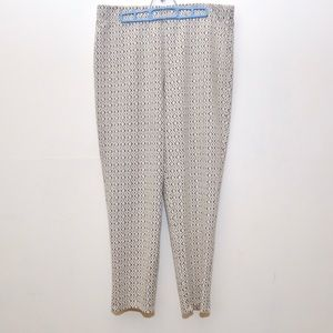 Melissa Paige gold thread trouser pants
